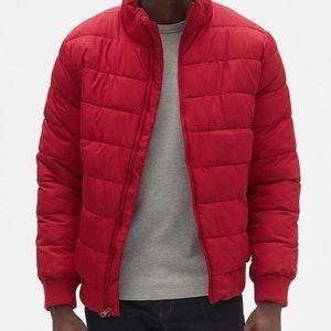 Gap warmest jacket for men in a beautiful red SALE